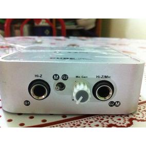 Placa De Audio Externa Icon Cube Mini