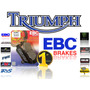 Pastilla De Freno Ebc Trasera Triumph Rocket 3 Roadster -abs