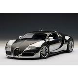 Miniatura Bugatti Veyron 16.4 Pur Sang Black Auto Art 1:18