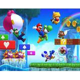 Painel Sublimação Em Tecido Super Mario 1,5 X 2,5 Festa
