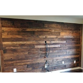 muro de madera nueva ra calidad