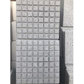 Baldosones 64 Panes Grises Con Granito Blanco Y Negro 40x40