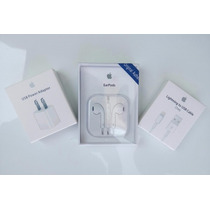 Cargador De Iphone 6/plus,iphone5,7 + Earpods 100% Original