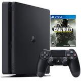 Ps4 Slim Call Of Duty Infinite Warfare - Playstation 4