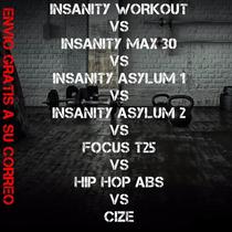 Todos Los Insanity + Focus T25 Hip Hop Abs Cize
