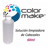 Solucion Liquido Limpia Cabezales Color Make 60cc Limpiador
