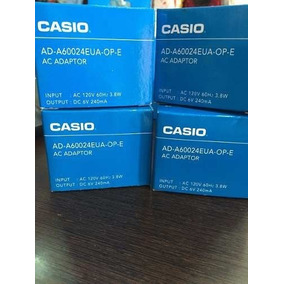 Transformador Adaptador Corriente Casio 6v Ad-a60024eua