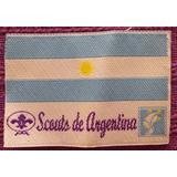 Parche Boy Scout Bandera Argentina