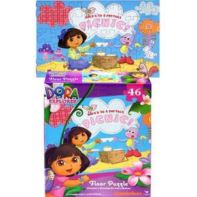 Dora La Exploradora Snow Princess Puzzle De Suelo Con Forma