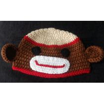 Gorros Lana Tejidos Al Crochet - Monitos