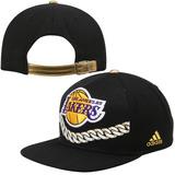 Gorra adidas Los Angeles Lakers Gold Chain Strapback Hat - B