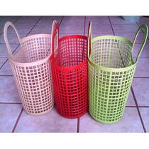 Bolsa Casual De Plastico, Moda Para Playa, Super Mercado Ata
