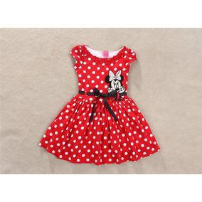 Vestido Minnie Mouse Princesa Para Niñas Tallas 2 - 7 Años