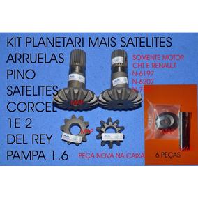 Satelite Planetaria Corcel Del Rey Pampa 1 E 2 Kits 6 Peças