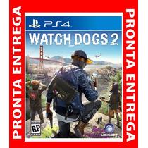 Watch Dogs 2 Ps4 Midia Fisica Original Lacrado Playstation 4