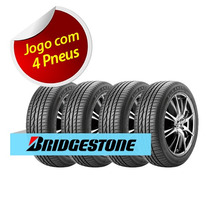 Kit 4 Pneu Aro 15 Bridgestone 195/60r15 Turanza Er300 88h