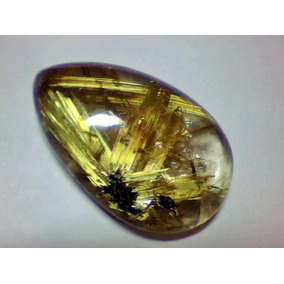 Cristal Rutilado;linda Gota 26x17mm 22,9 Cts *mnbras*