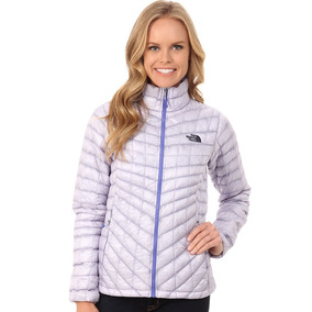 Chamarra Para Dama The North Face Lila Suave Thermoball