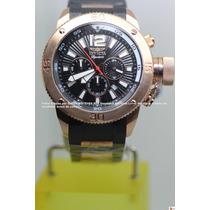 Invicta Russian Diver 52mm Plaque Ouro Rosé 18k 7428