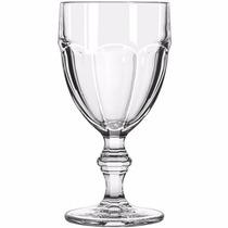 Jogo De 6 Taças Para Água Vinho Vidro Transparente 420ml
