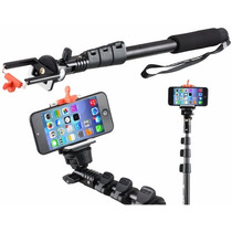 Monopod Selfie Original Reforzado 1,25mts Con Control