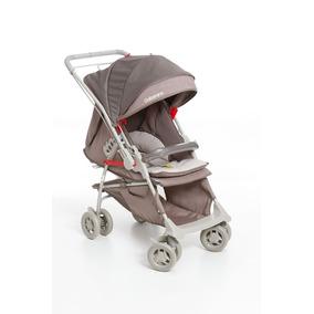 Carrinho De Bebê Galzerano Maranello Cappuccino Reversível