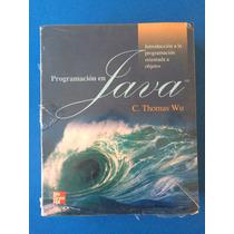 Libro - Programacion En Java Introduccion A La Programación