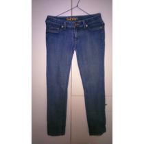 Pantalon Jean Azul Focalizado Marca Exit