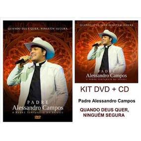 Cd +dvd Padre Alessandro Campos Original E Lacrado