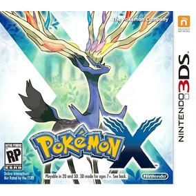 Pokemon X 3ds Midia Fisica Nintendo Pokémon Xy 2ds Moon