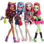 Paquete De 4 Muñecas Monster High