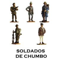 Soldados Do Século Xx Guerras Delprado Miniatura Chumbo