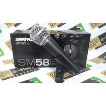 Microfone Shure Sm58 (sm58-lc) Profissional Pronta Entrega