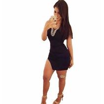 Vestidinho Curto Colado Festa Elegante Lindo #vc14 Panicat