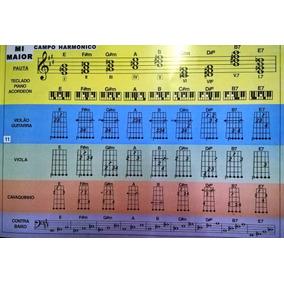 Livro De Acordes:violão,guitarra,viola,teclado,baixo,cavaco