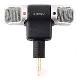 Microfone Mini Stéreo P2 Celular Androir Iphone