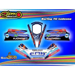 Kit Calcos Karting Tc Ledesma Laminado 3m Estandard