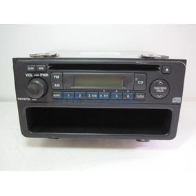 Rádio Carro Toyota 52800 + Porta Treco Panasonic Cq-js7300k