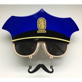 12 Piezas Lentes Policia Con Bigote
