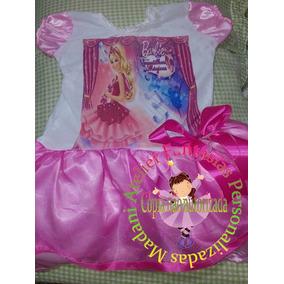 Vestido Fantasia Aniversário Barbie Sapatilhas Magicas Balle