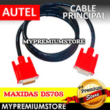 Cable Principal Autel Maxidas Ds708 Diagnostico Automotriz