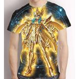 Camisa Cavaleiros Do Zodiaco Camiseta Afrodite De Peixes