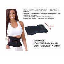 Cinta Modeladora Redutora Miss Belt Tamanhos P, M, G, Gg