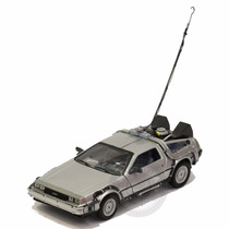 Miniatura Delorean Filme Back To The Future 1 Welly 1/24