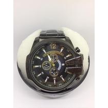 Relógio Diesel Importado - Pronta Entrega Prata Ou Dourado