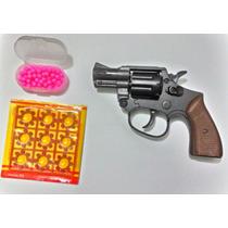 Rifle Pistola Revolver Rambo Espoleta + 70 Bbs De 6 Mm