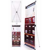 Display Porta Banner 180x80 En De Aliminio