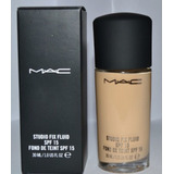 Mac Base Studio Fix Liquida Mineralizada Nc25 Original