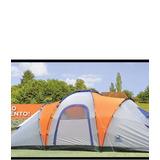 Carpa 8 Personas Camping Impermeable 3 Habitaciones/comedor