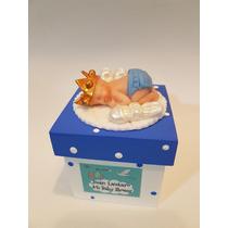 Souvenirs Bebés Cajita Nacimiento,bautismo Baby Shower